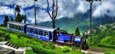The train to Darjeeling
