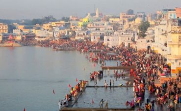 Visit Pushkar Hindu pilgrimage destination