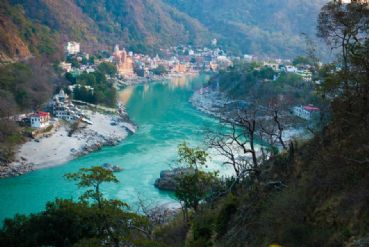 Tourismus in Rishikesh in Uttarakhand