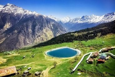 Auli in Uttarakhand and Auli to Joshimath trek