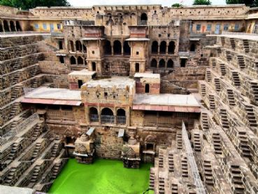 Visit Abhaneri and the Chand Baori
