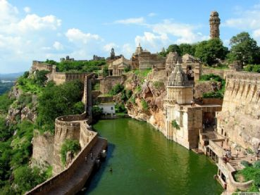 Forte di Chittorgarh in Rajasthan
