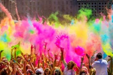 Holi Festival with Golden Triangle tour package