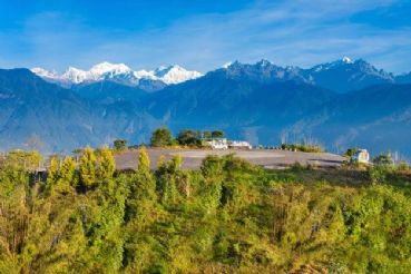 Visit Pelling with magnificent views of the snow-capped Kanchenjunga Mountains