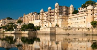 Udaipur in Rajasthan the Venice of the East