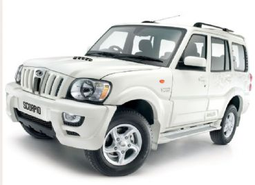 Mahindra Scorpio India rental with driver